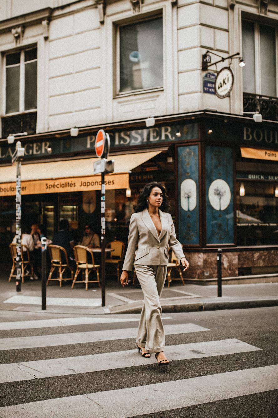 paris - boulangerie - model