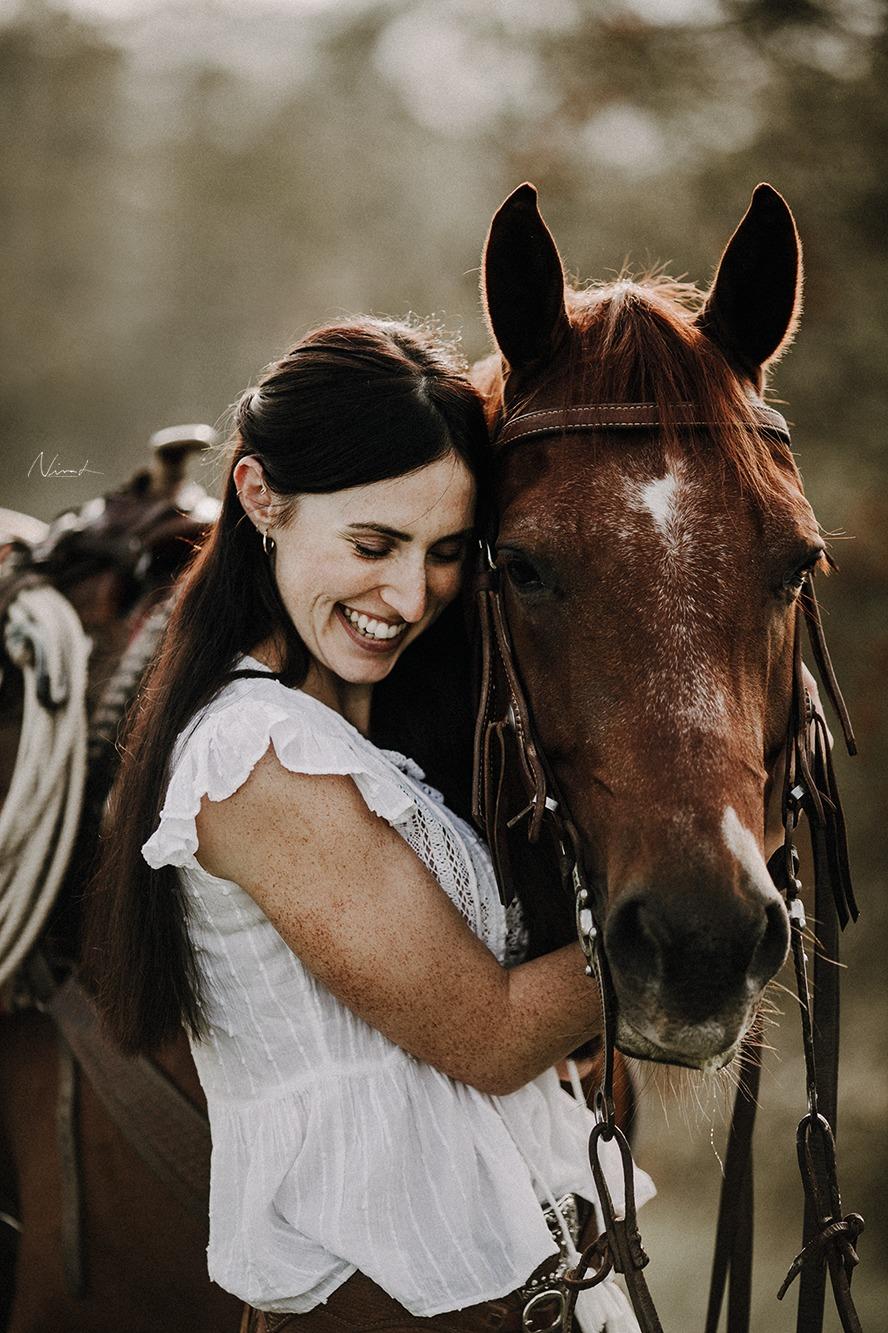 cowgirl - Pferdemädchen - portrait