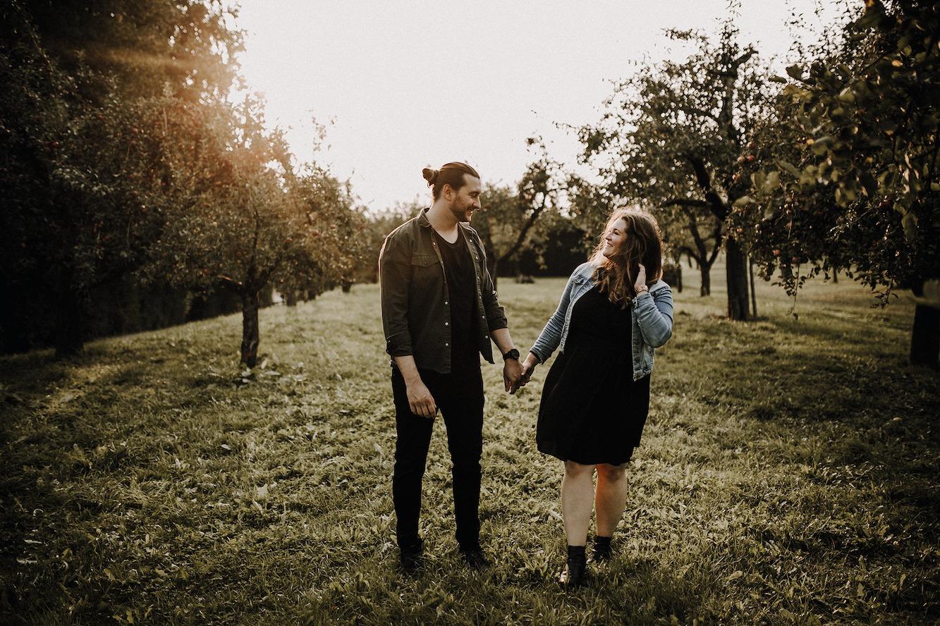 Herbst - couple - Nürtingen