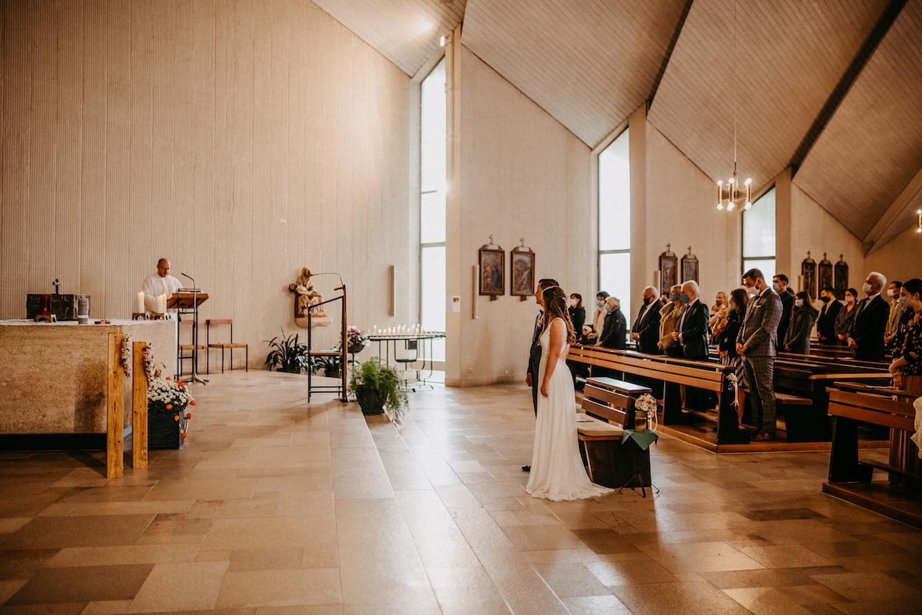 Kirche Hochzeit kiebingen