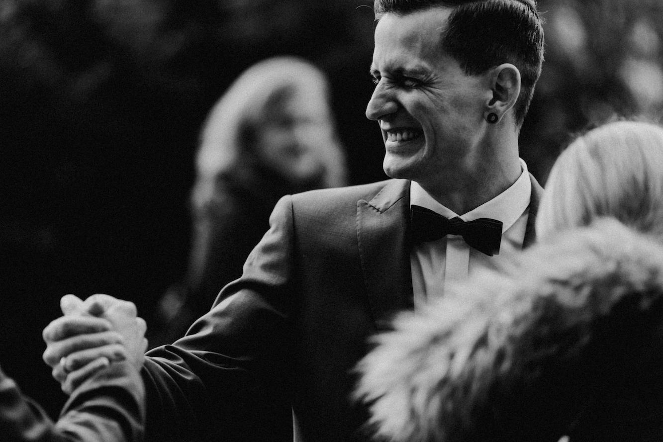 Hochzeit kiebingen schwarz-weiß