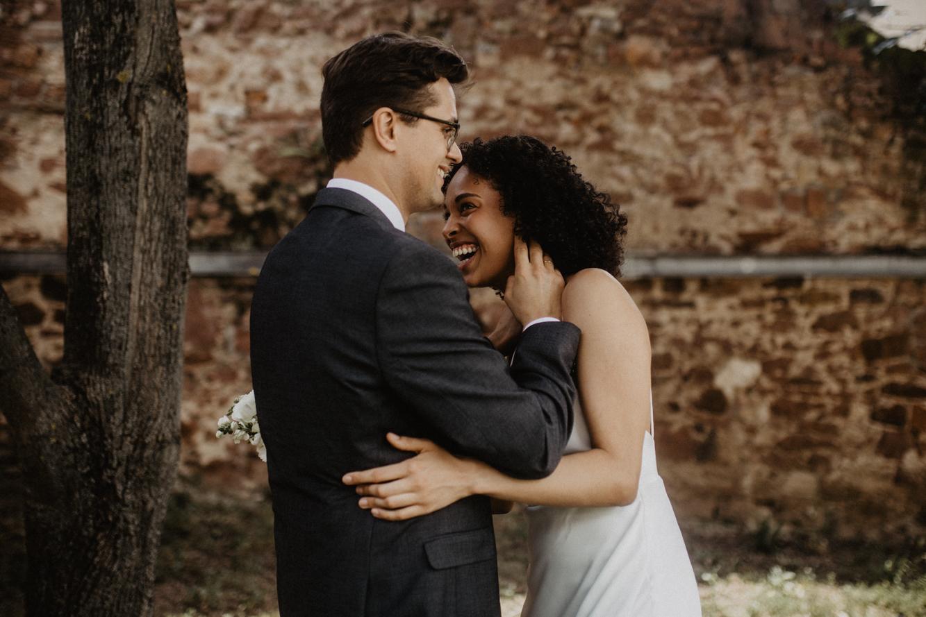 elopement Heidelberg - natürliche Hochzeitsbilder - haleyxlenny