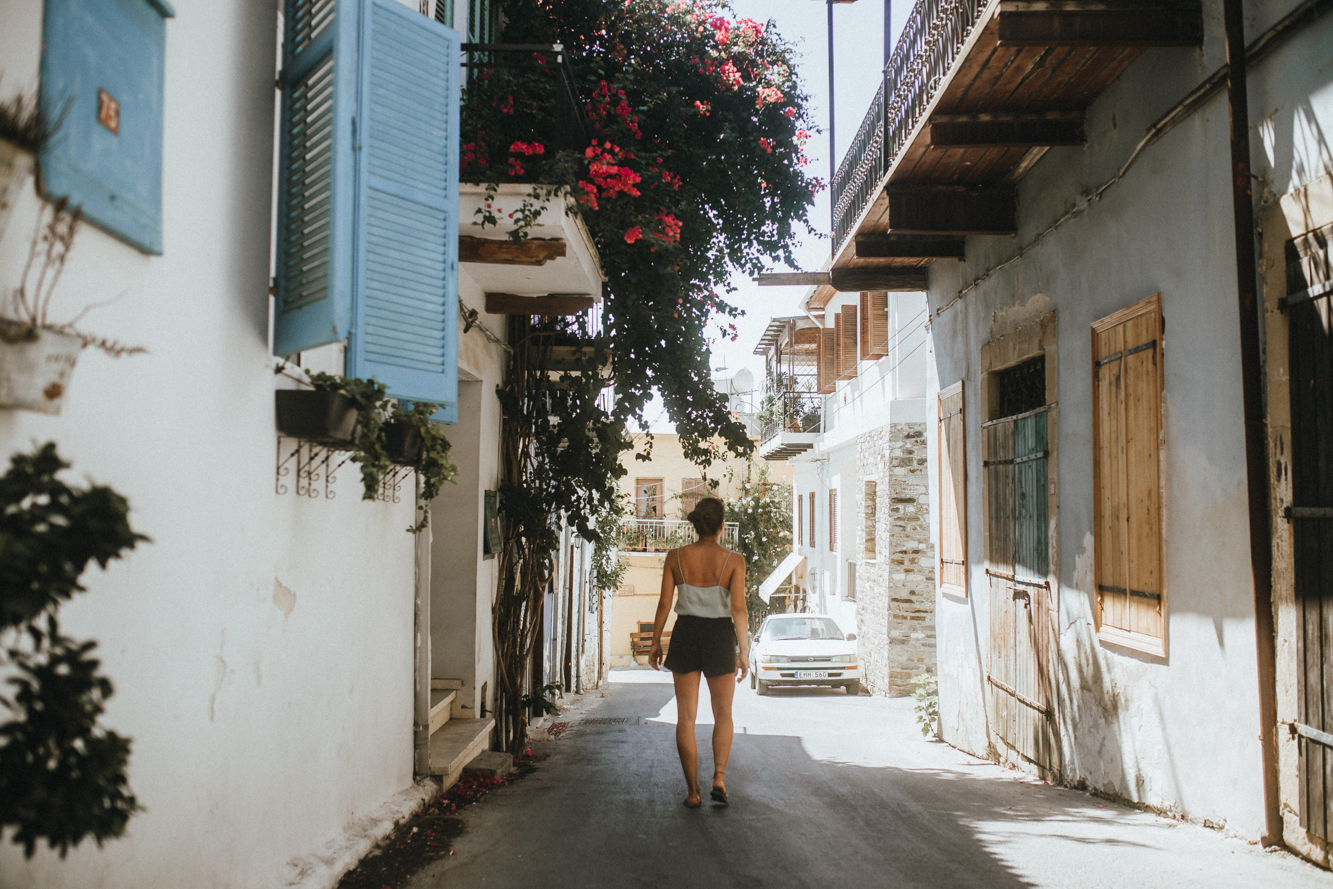Pano Lefkara - Mountain Village Cyprus - flowers