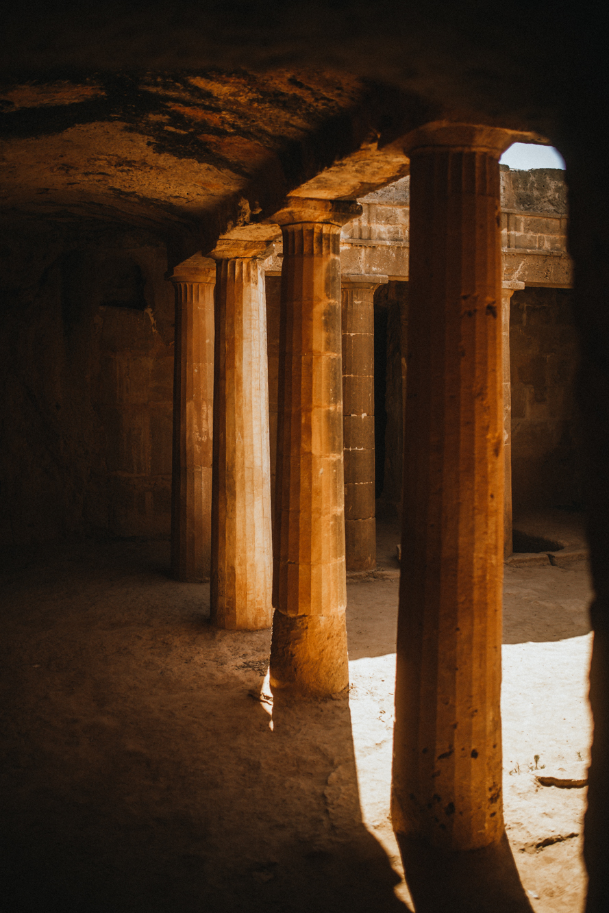 Tombs of the Kings - Paphos - Greek architecture
