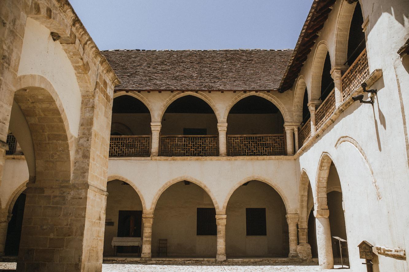 Omodos Village - Exploring Cyprus - Architecture