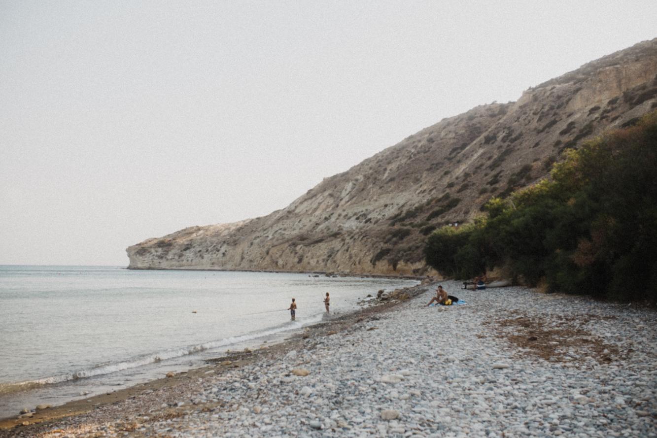 Pissouri Bay - Mediterranean Coast - Cyprus Beach