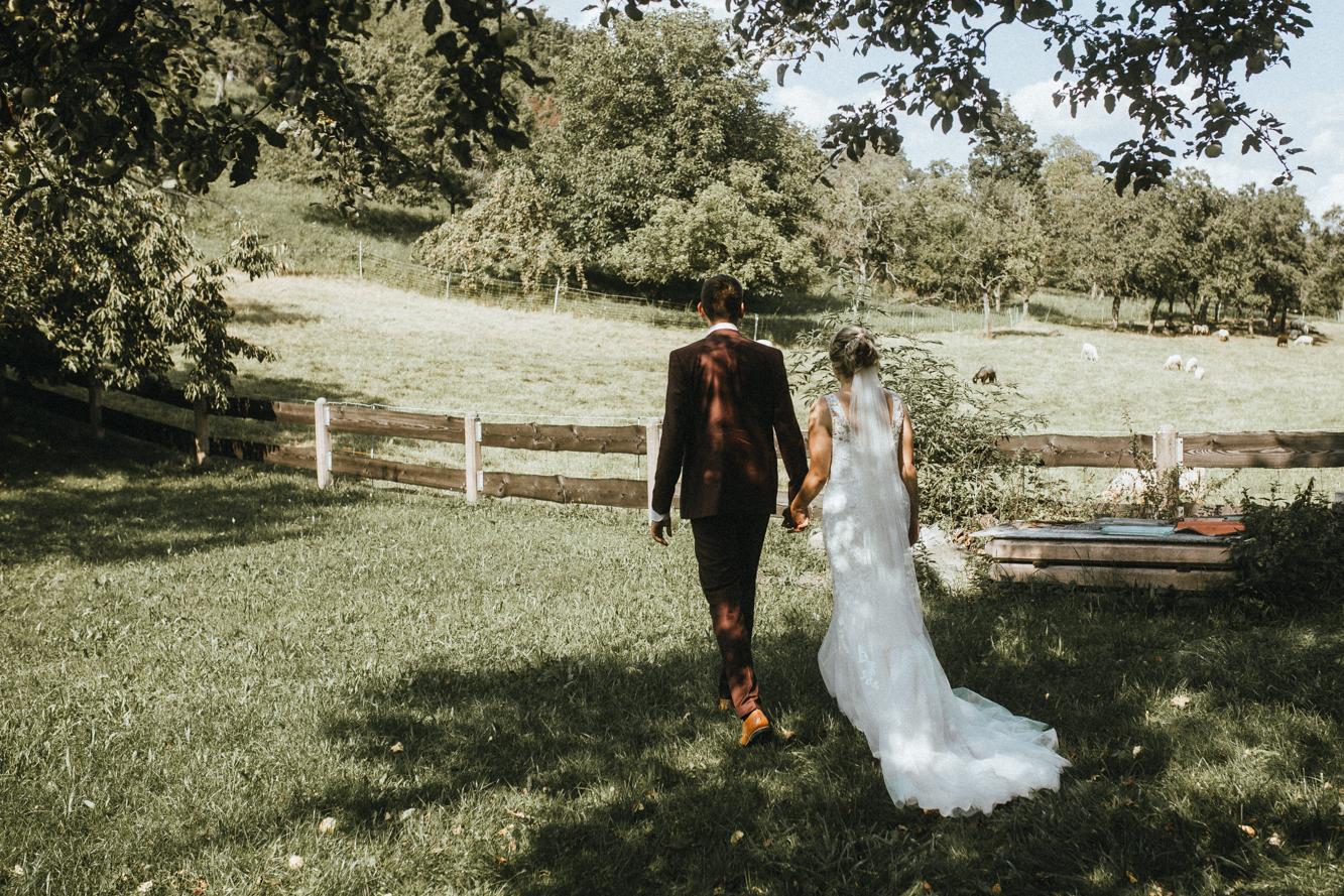 Hochzeit Heidelberg - Brautpaar - Paarfotos