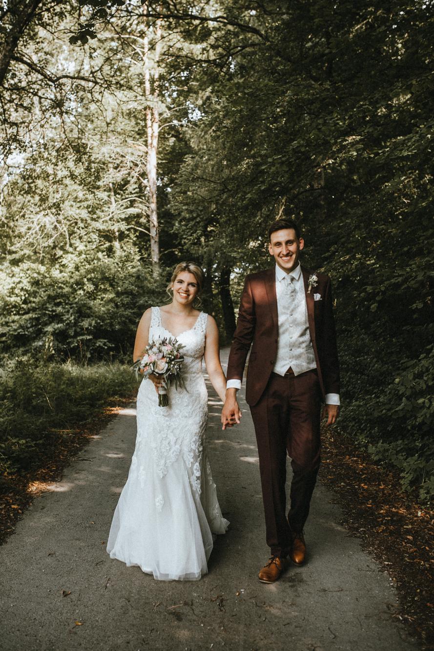 Hochzeitsbilder Tübingen - Brautpaar - Familienfoto Rottenburg