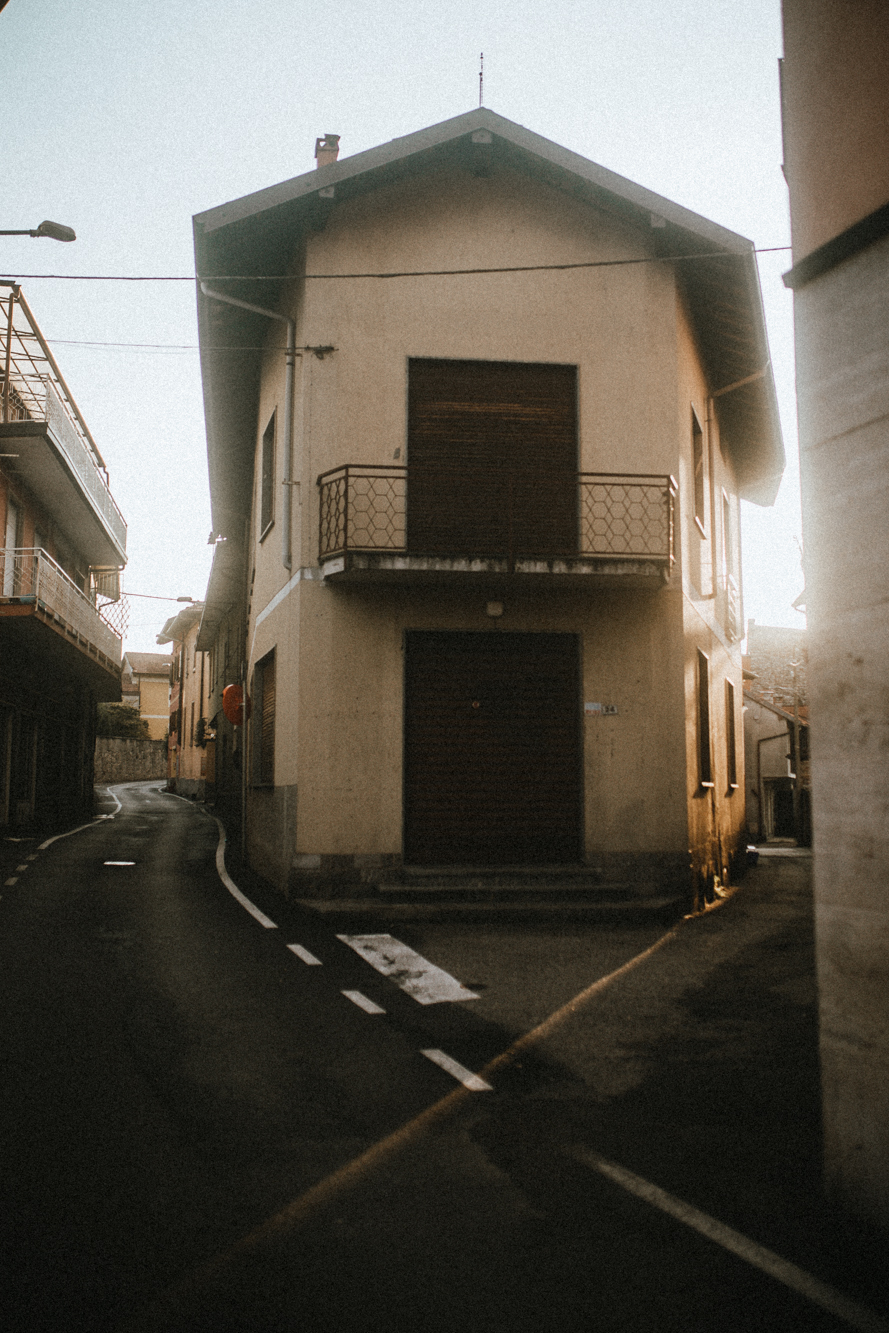 Invorio - small Italian village - piemont