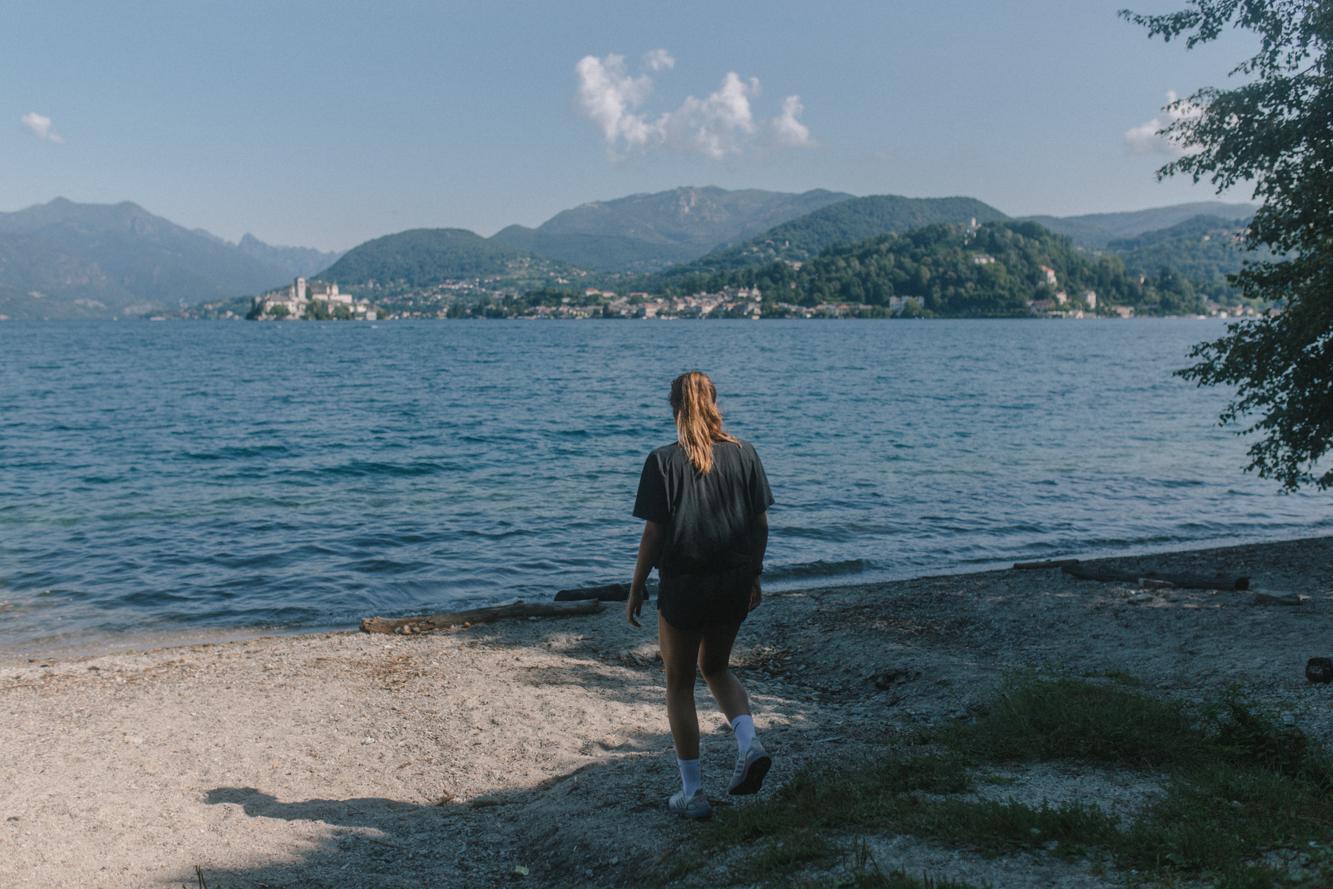 lago di orta - san Giulio - Norditalien