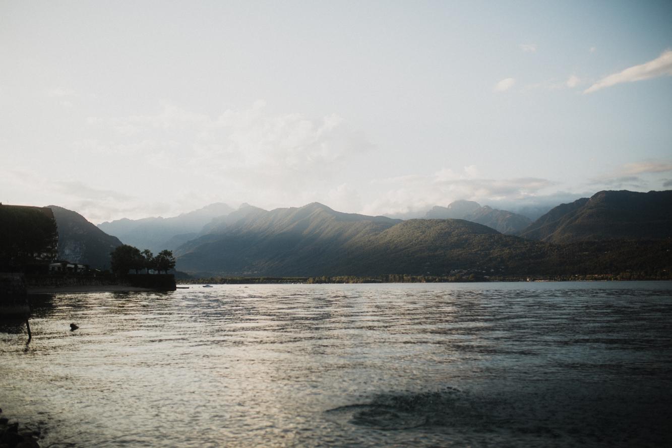 Baveno - lago maggiore - evening dip